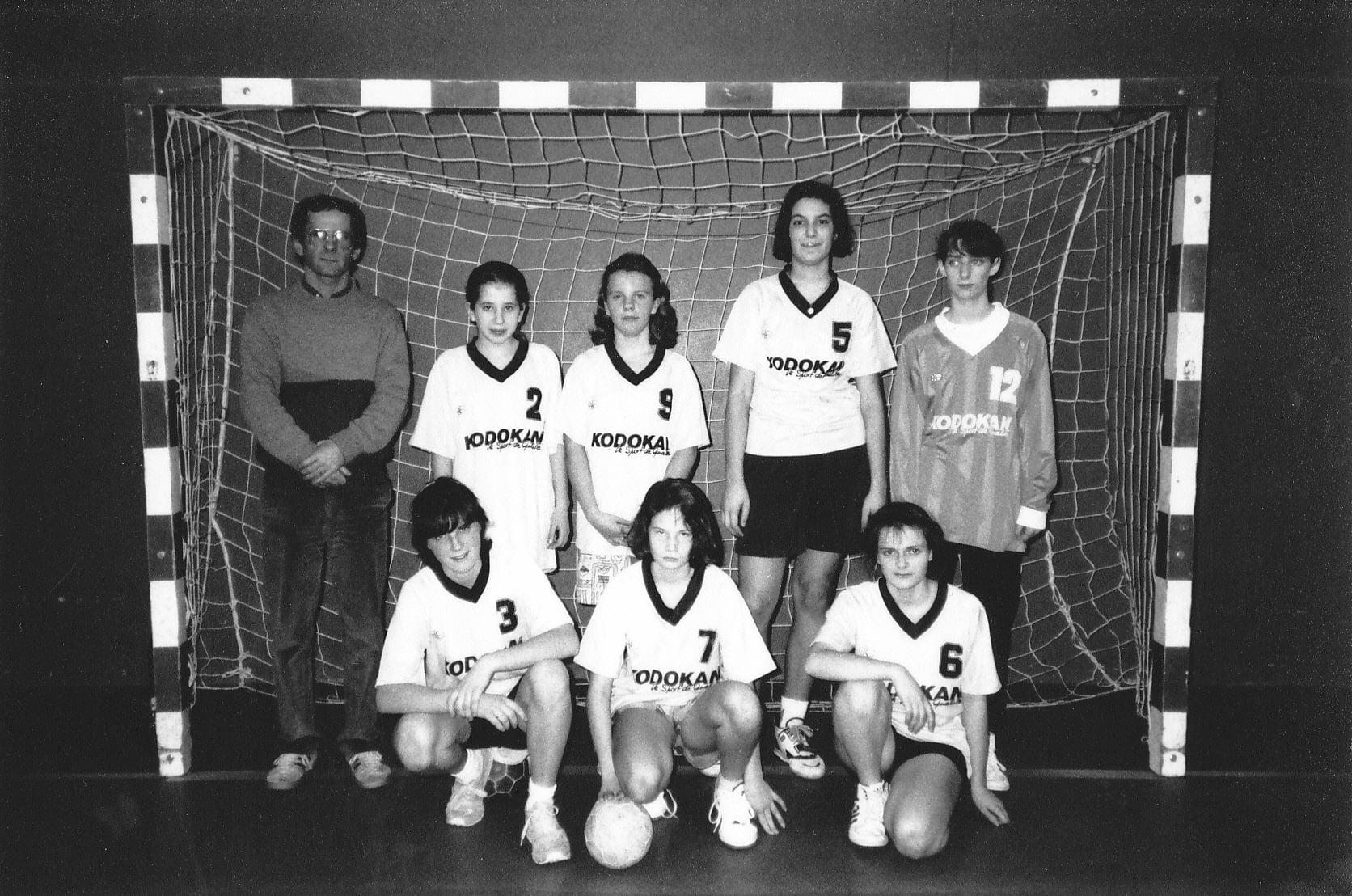 Equipe-cadette-Minimes-filles-de-lA S-Handball