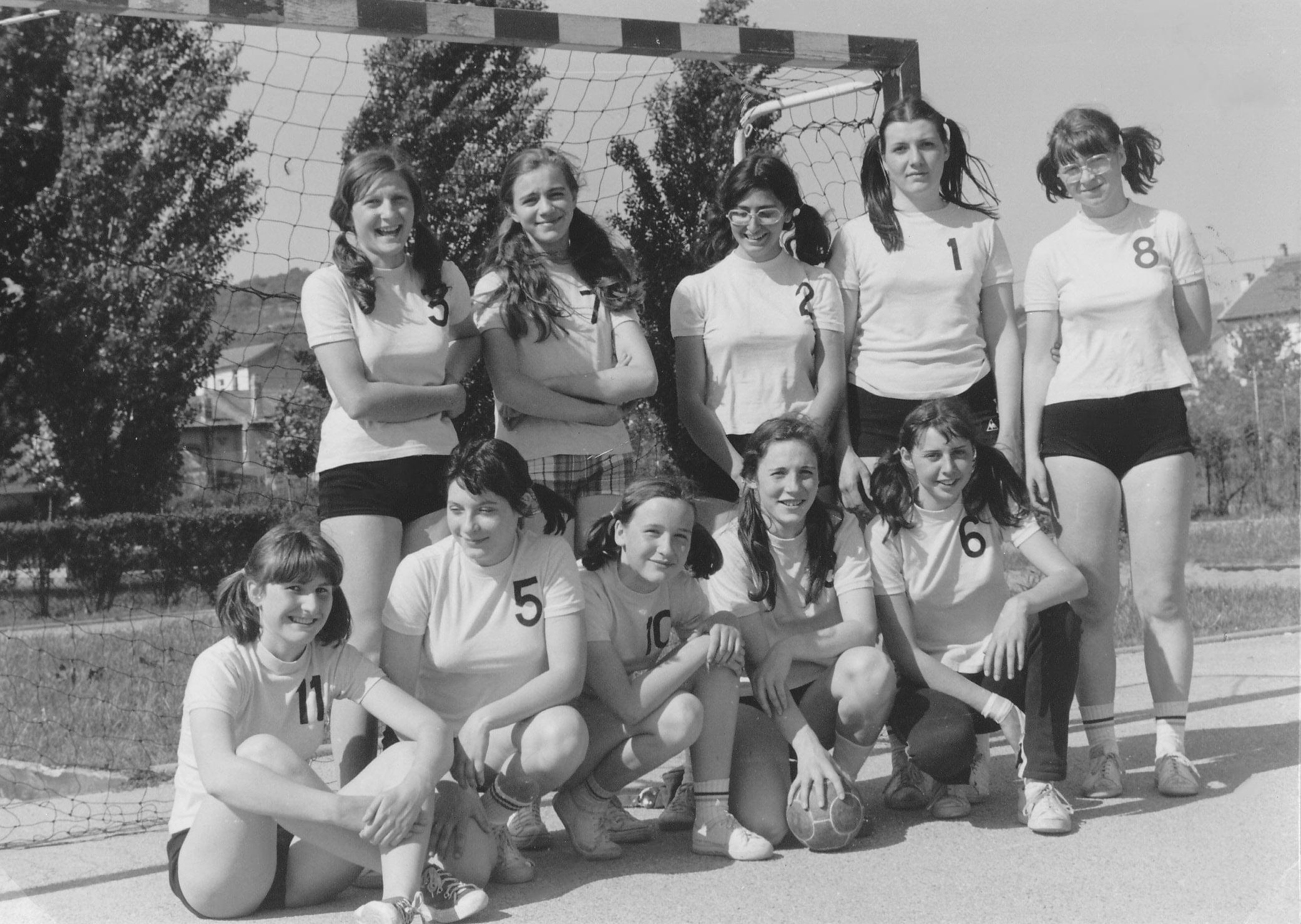 Seniors-feminines-Saison-1975-1976