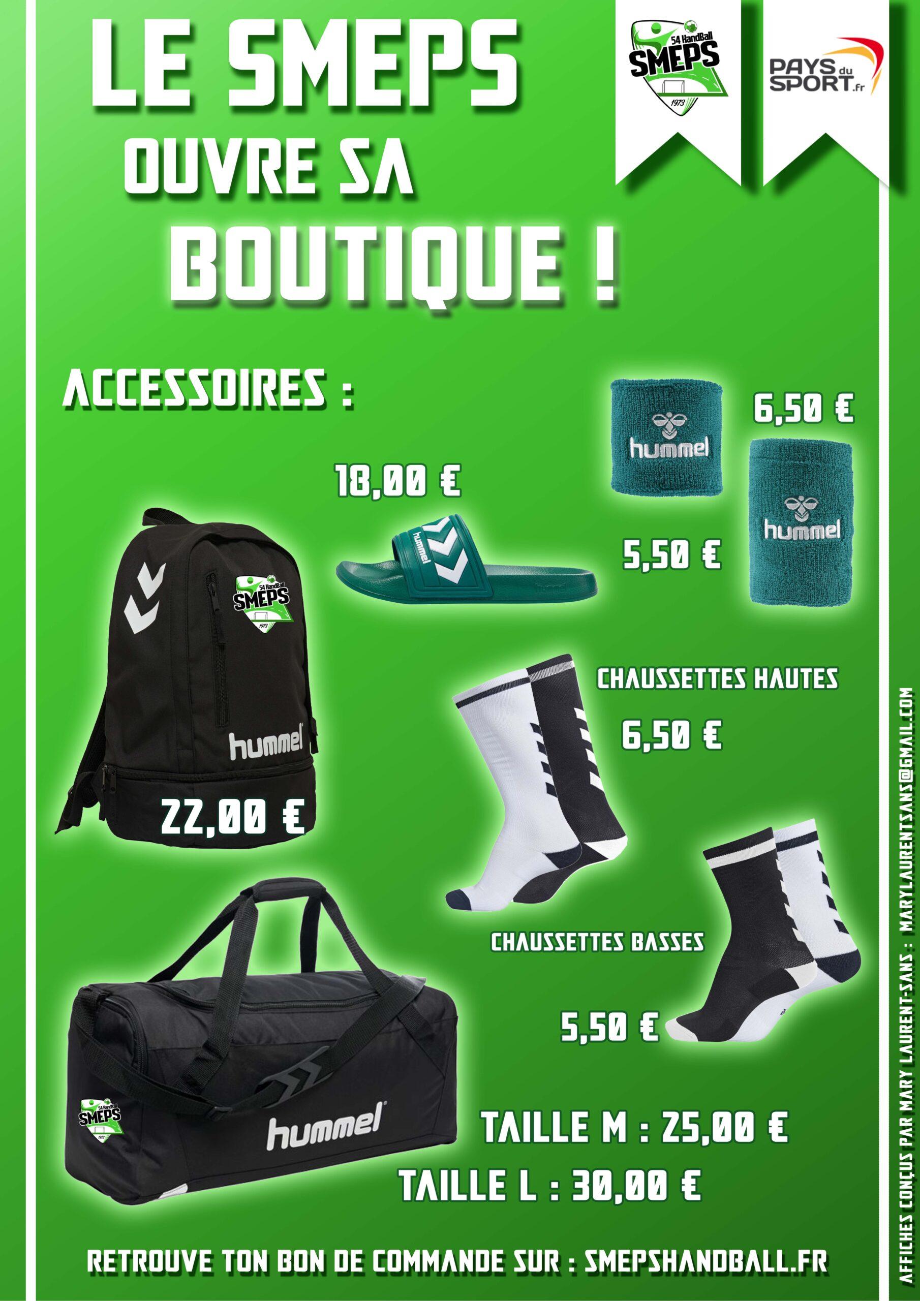 Articles de la boutique du SMEPS Handball-Page 3