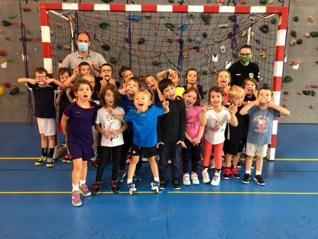 Ecole de Handball du SMEPS (- de 9 ans mixte)