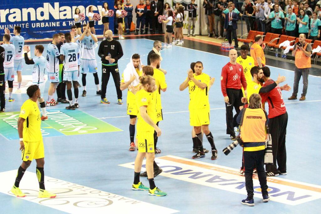 16 èmes de finale de la Coupe de France de handball masculin : Grand Nancy Métropole HB – PSG HB