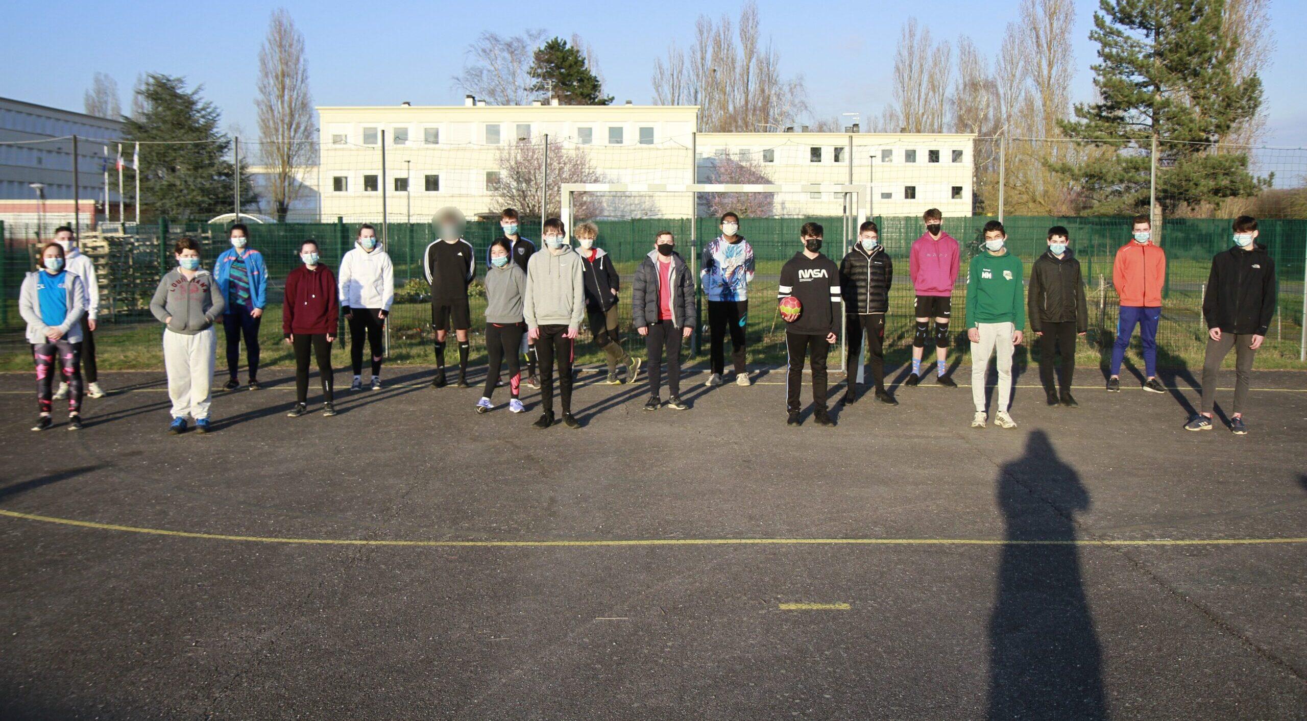Reprise des activités de Handball au SMEPS en 2021