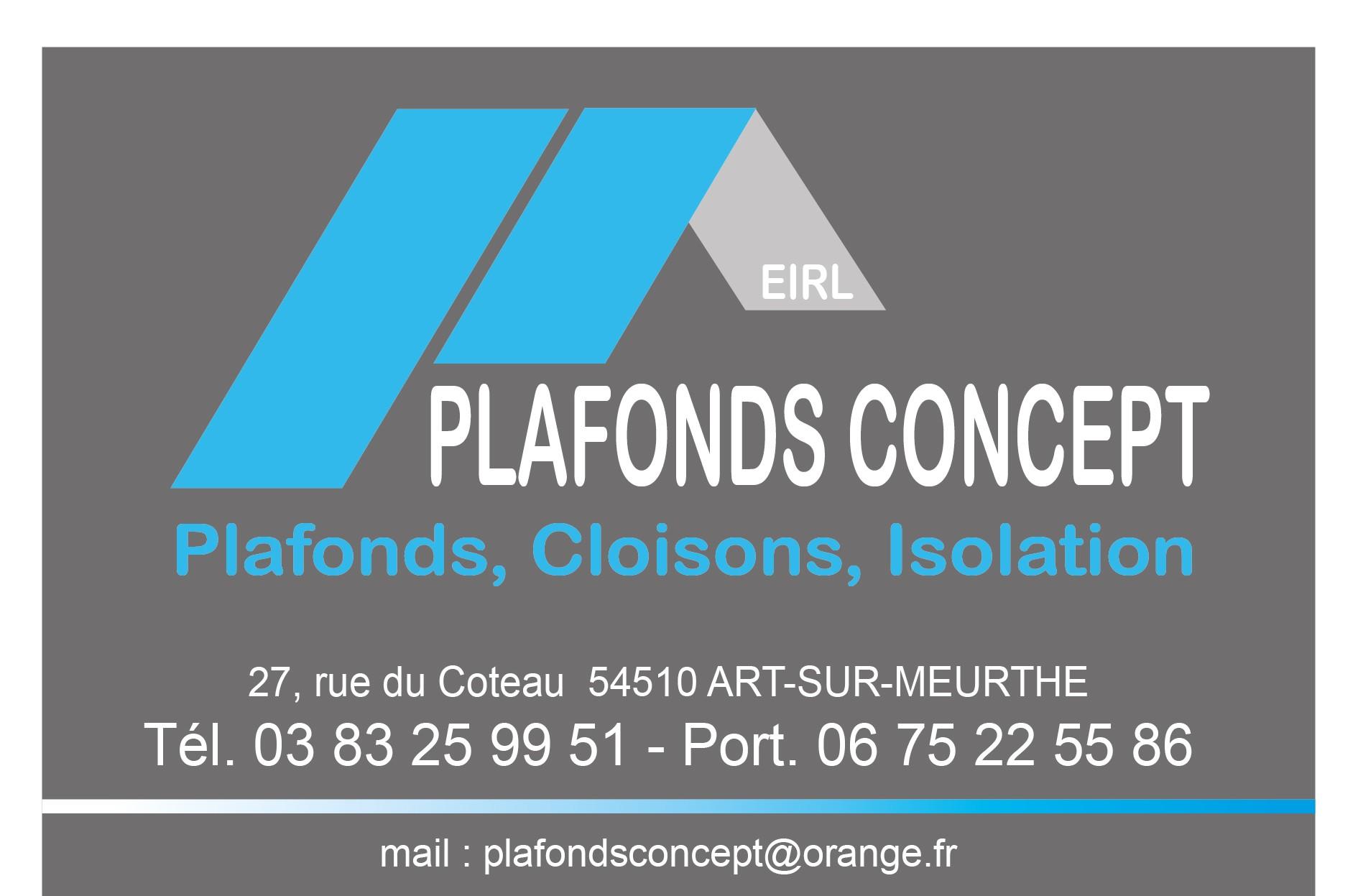 Plafonds Concept à Laneuveville-devant-Nancy