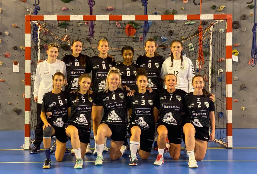 Seniores féminines SMEPS HB 54 - Saison 2021-2022