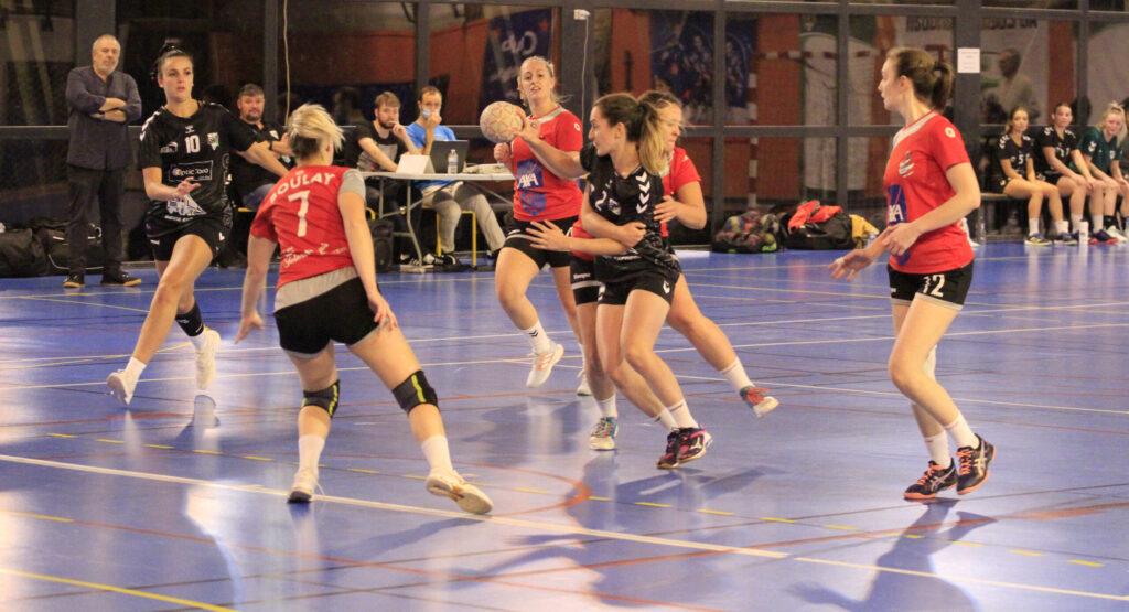 Read more about the article Championnat Prénationale SF SMEPS HB – CESC HB BOULAY (09/10/2021)